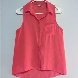 Women's Claret Full Tilt Sleeveless Blouse